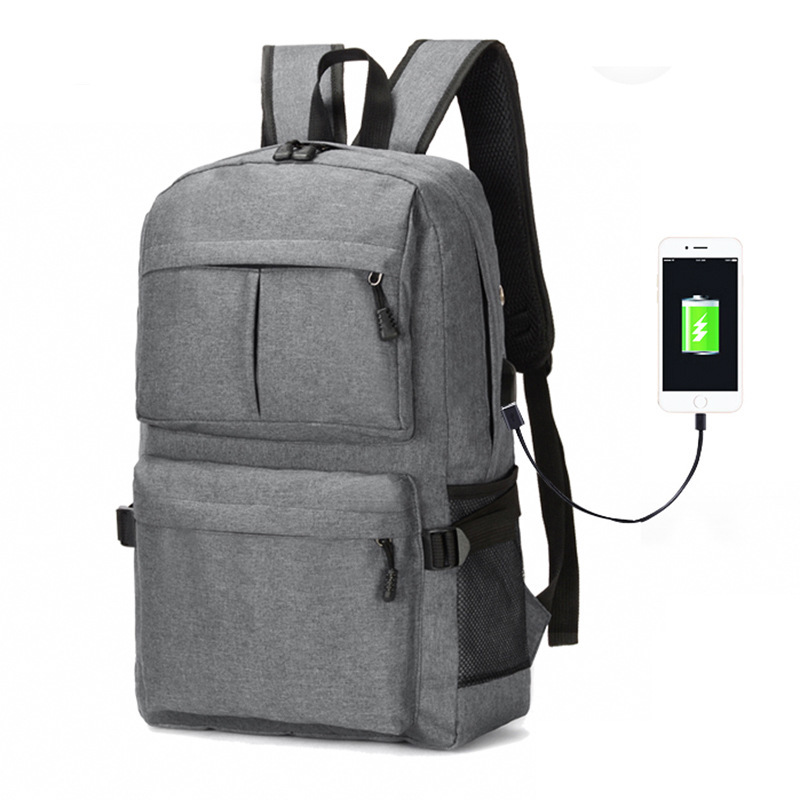 24L Multifunction USB Charging Backpack 15inch Laptop B
