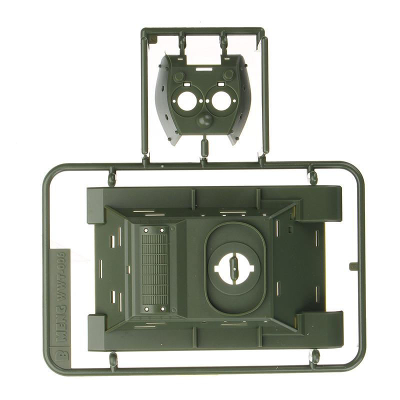 Meng WWT002 Soviet T34 / 76 Medium Tank DIY Assembling Building Kits Model For Kids Gift Toys