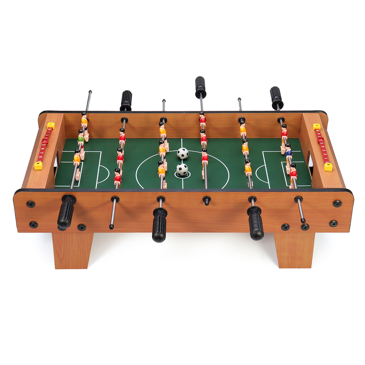 6RodsTableSoccerGames2 Spelers Voetbal Competitie Mini Sports Toys Set