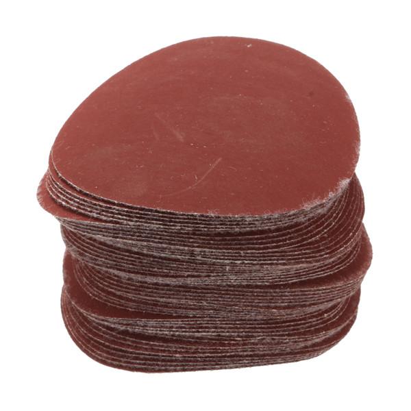 50pcs 3 Inch 40-7000 Grit Sanding Discs Sanding Polishing Pad Flocking Sandpaper