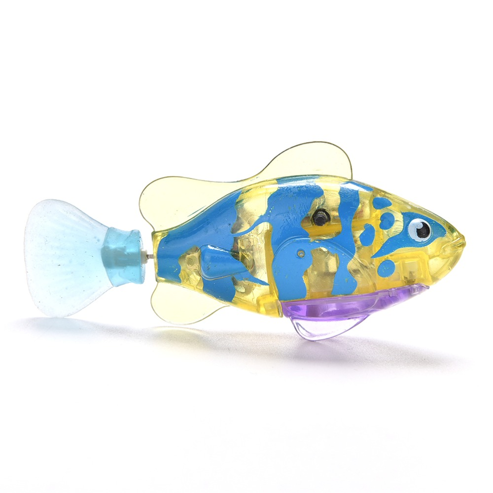 Pets Robofish Activated Battery Powered Robotic Pet Toys for Fishing Tank Decorating Fish