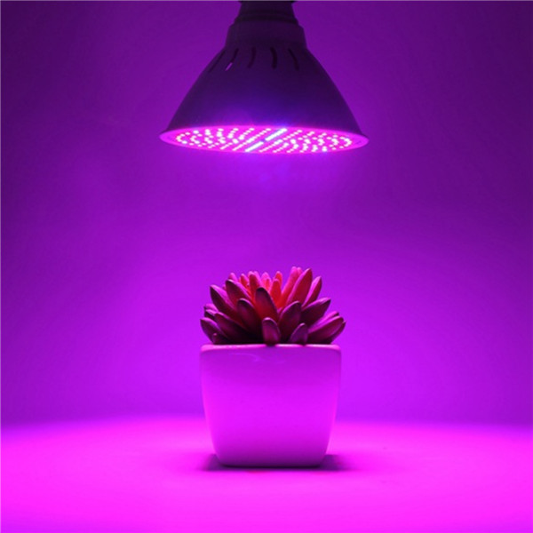 E27 15W 126 LED Plant Grow Light Lamp Bulbs Clip for Flower Growing Green House
