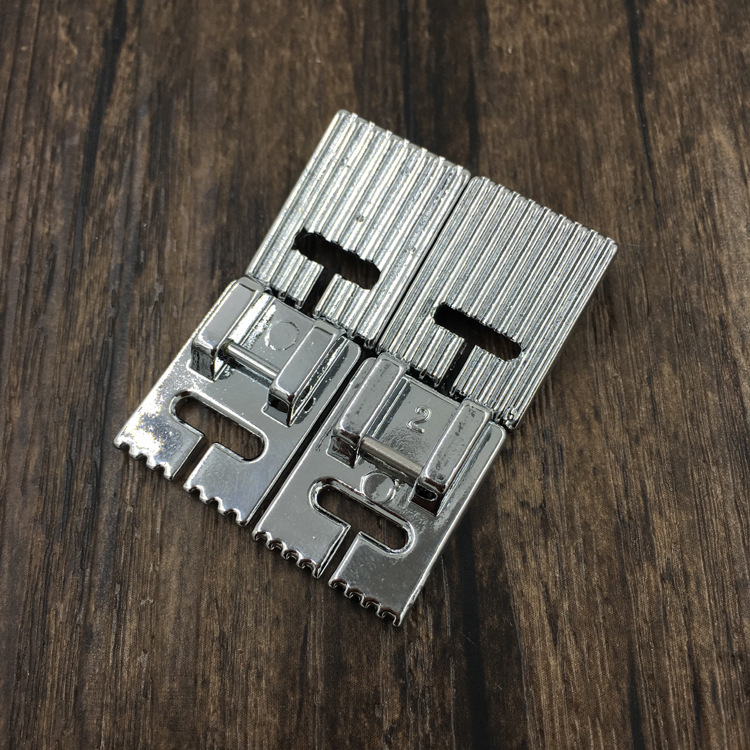 Household Multi-Function Sewing Machine Accessories Tools Tank Presser Foot With 9 Grooves or 7 Grooves