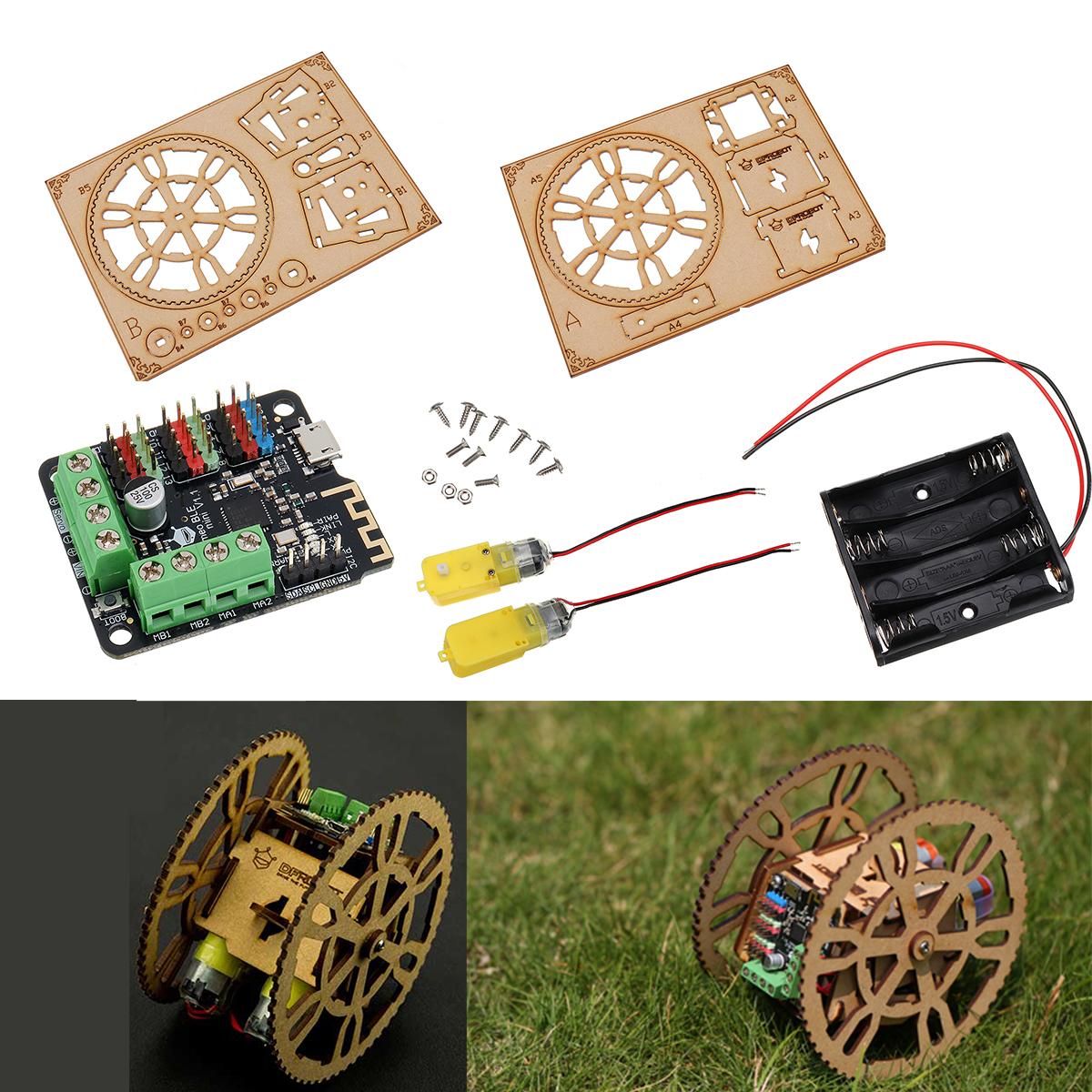 DFRobot FlameWheel Remote Control Smart Robot DIY Kit for Arduino Support iOS App