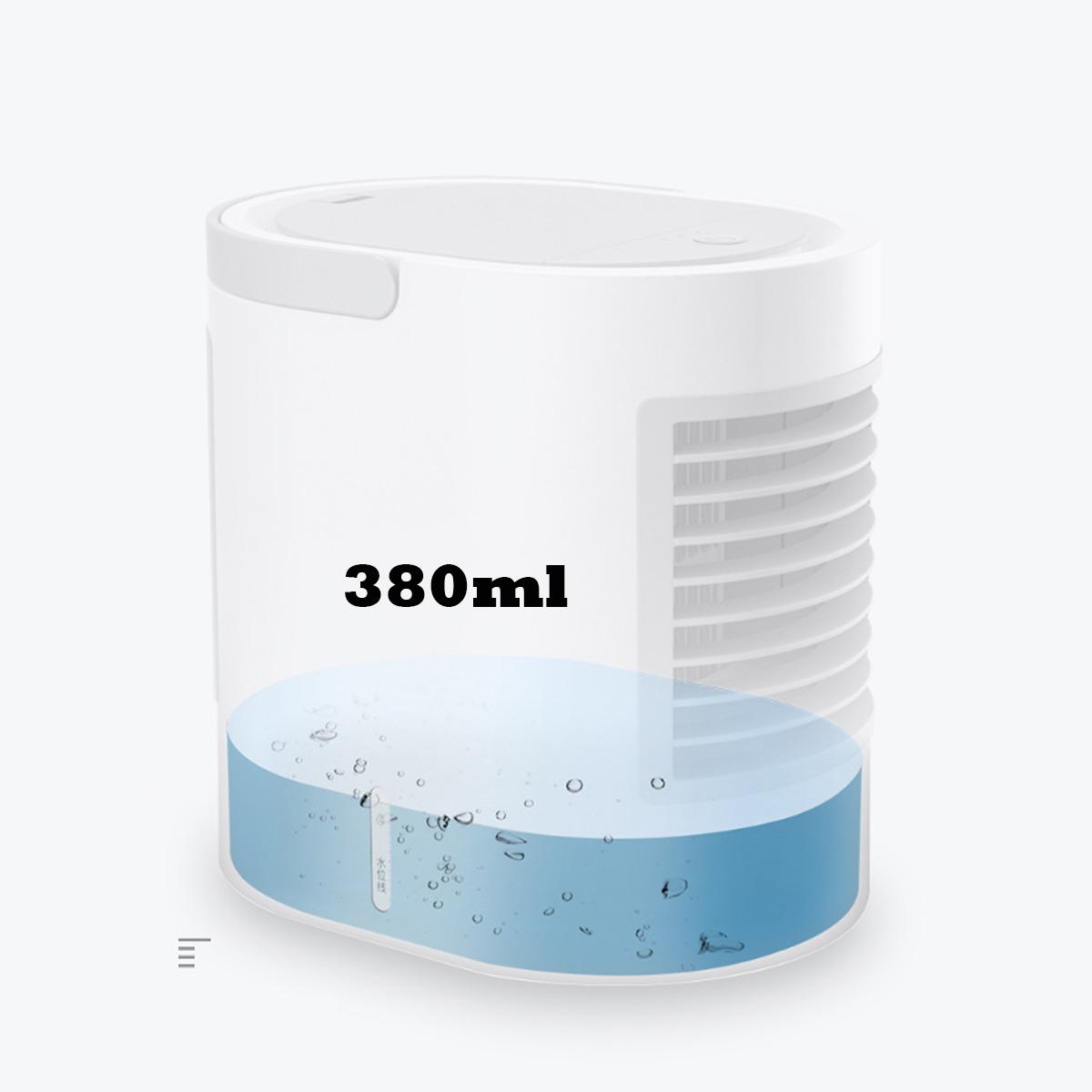Refroidisseur d'air d'ion négatif d'USB de mini ventilateur de climatisation de la vitesse 3W 380ml USB pour l'usage à la maison de bureau