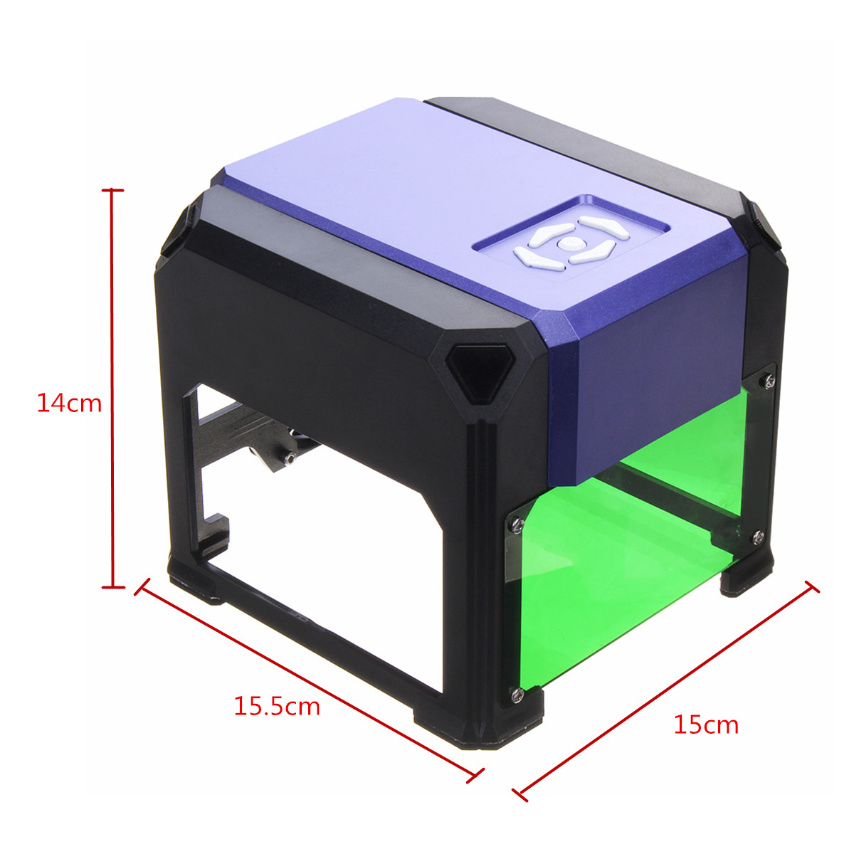 1000mW Laser Engraver DIY Engraving Machine Cutter Logo Printer 8x8cm