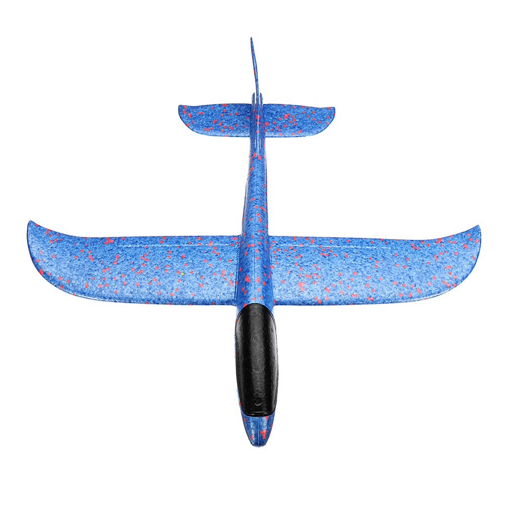 5PCS Wholesale Plane Toy 48cm Big Size Hand Launch Throwing Aircraft Airplane Glider DIY Inertial Foam EPP