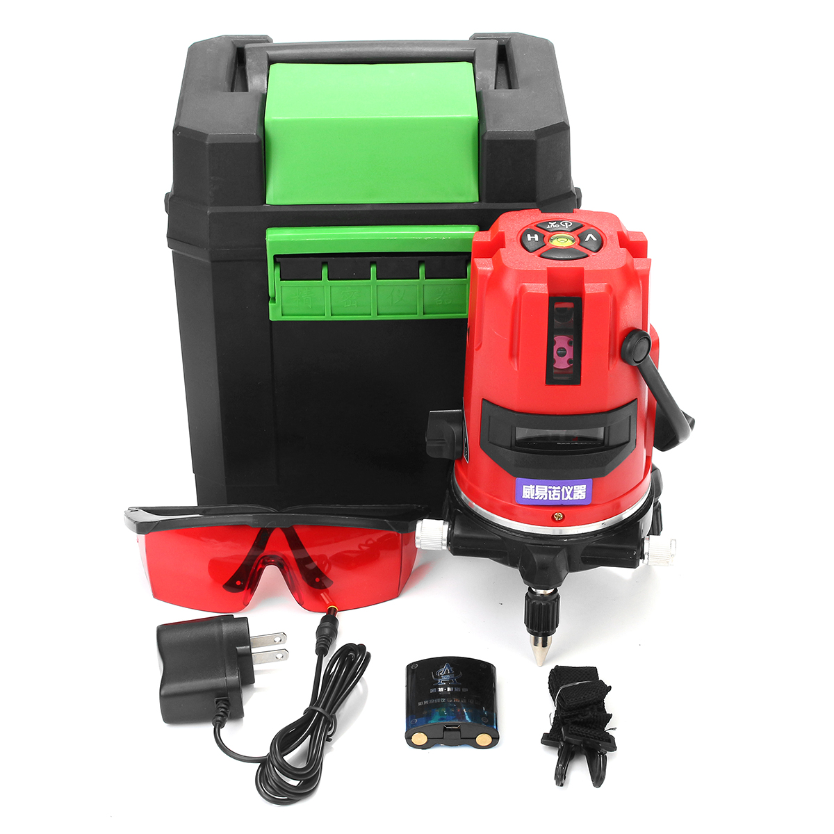 5 Line 6 Point 20 Times Rotary Laser Level Automatic Self Leveling Measure Set