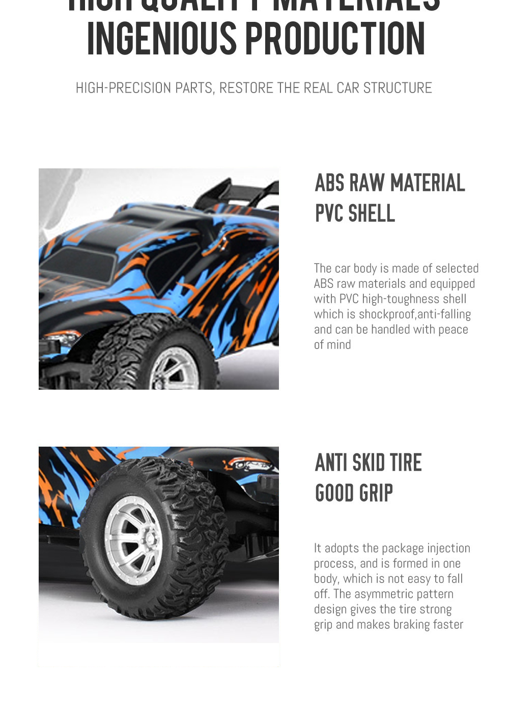 S809 Several Battery RTR 1/32 2.4G 2WD Mini RC Car Dual Speed Off-Road Vehicles Kids Child Toys LED Light Model