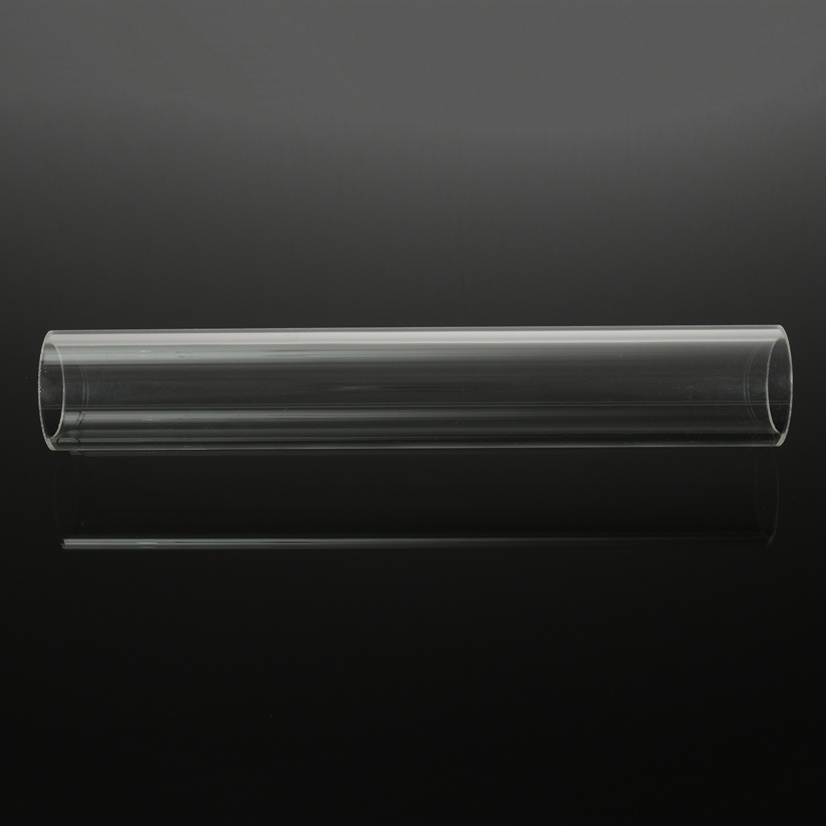 300mm Transparent Round Acrylic Hollow Tube Plastic Pipe - 4 Sizes