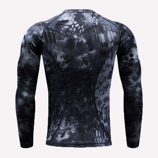 Camouflage Tight-fitting Quick-drying T-shirts