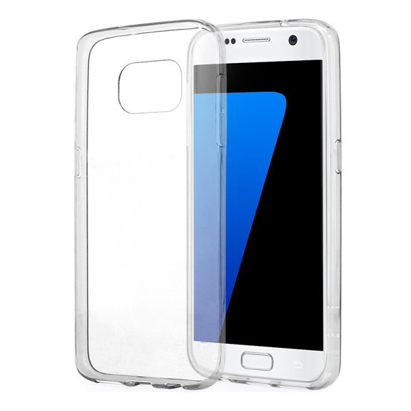 ENKAY TPU Soft Clear Back Case Cover For Samsung Galaxy S7