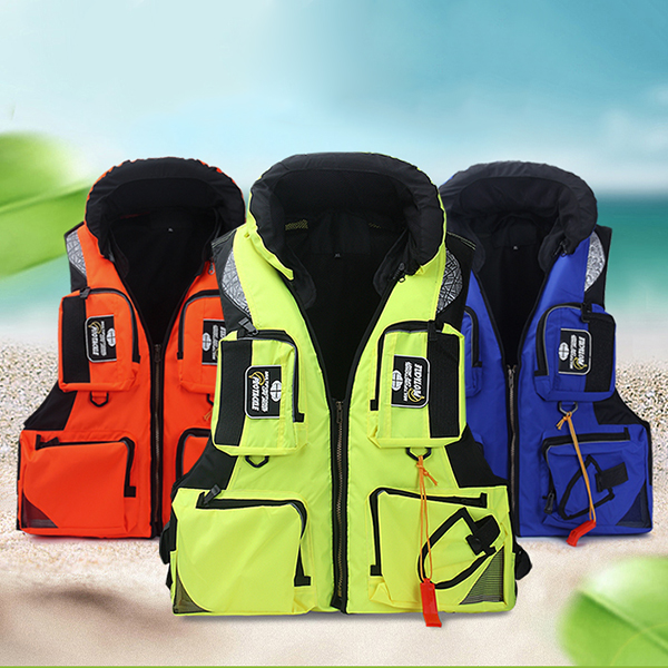 Mens Sea Fishing Clothes Floating Objects Life Jacket Vest