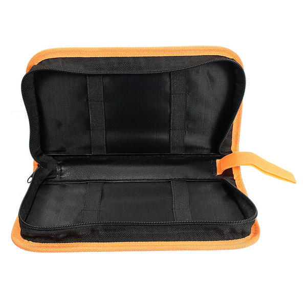 Yellow Edges Tool Bag Electrician Canvas Repair Soldering Iron Chisel Roll Electrical Tools Utility