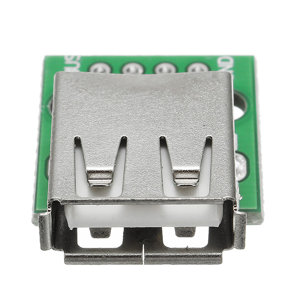 5pcs USB 2.0 Female Head Socket To DIP 2.54mm Pin 4P Adapter Board