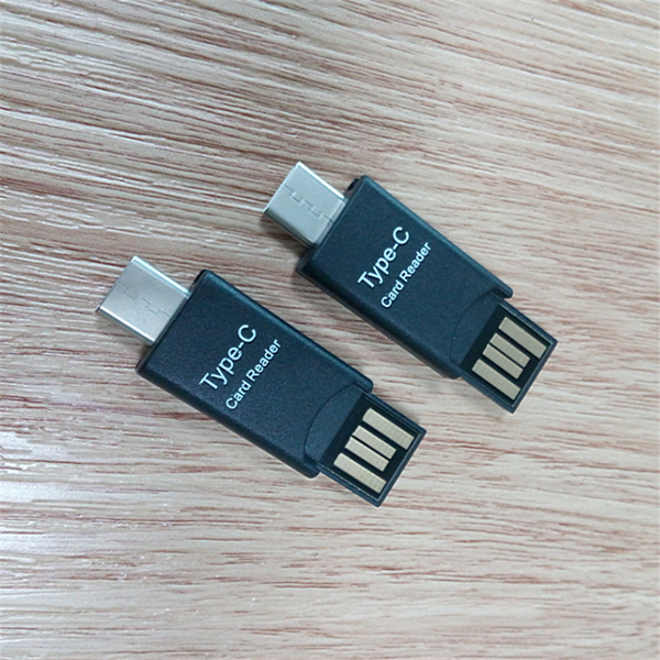Universial USB To Type C TF Card Reader OTG Adapter Converter For OnePlus 5 Samsung S8 Xiaomi 6 Mix2
