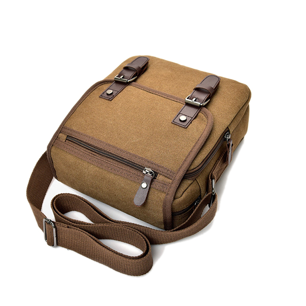 Canvas Casual Business Waterproof Single-Shoulder Bag Crossboby Bag For Men
