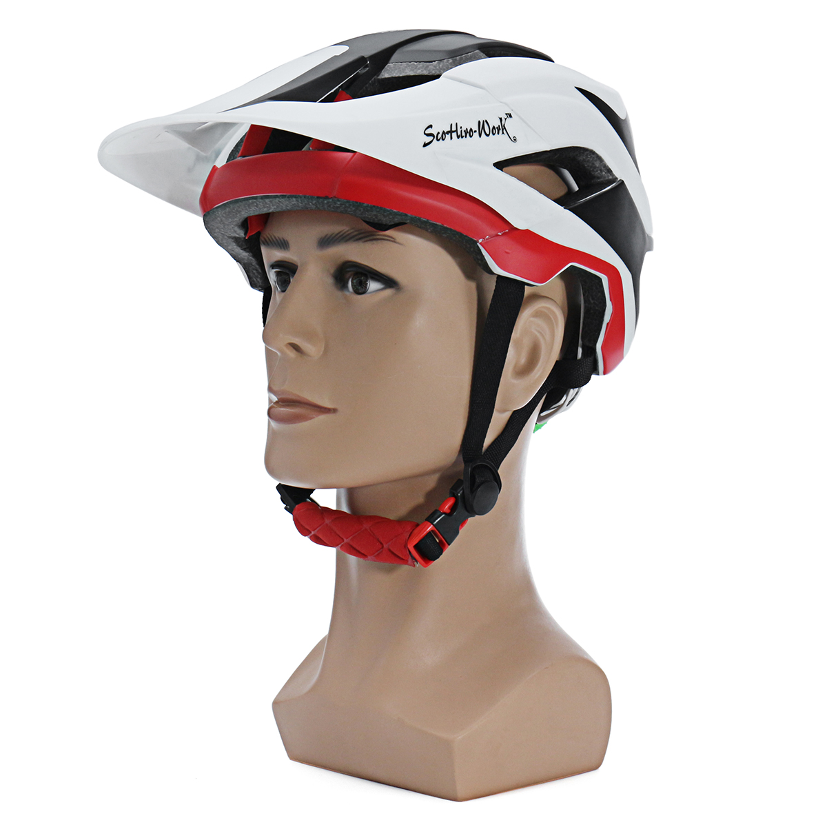SCOHIRO-WORK Water Label Version Mountain Bike Helmet Ultralight Cycling Sport Safety Helmet