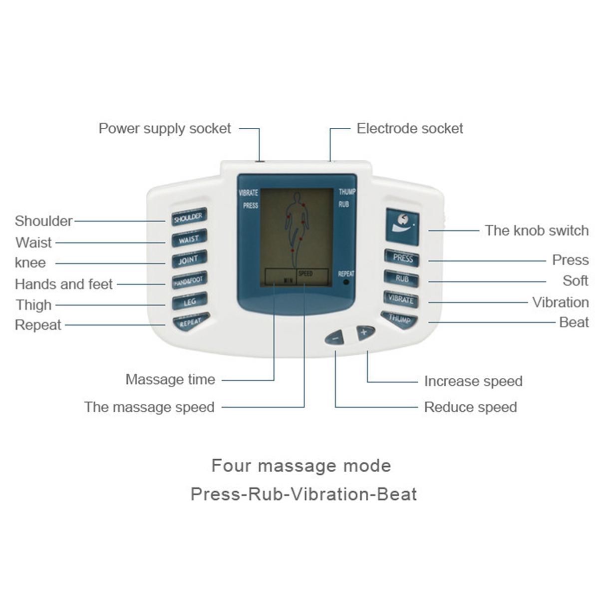 Rechargeable TENS Unit Muscle Stimulator Machine