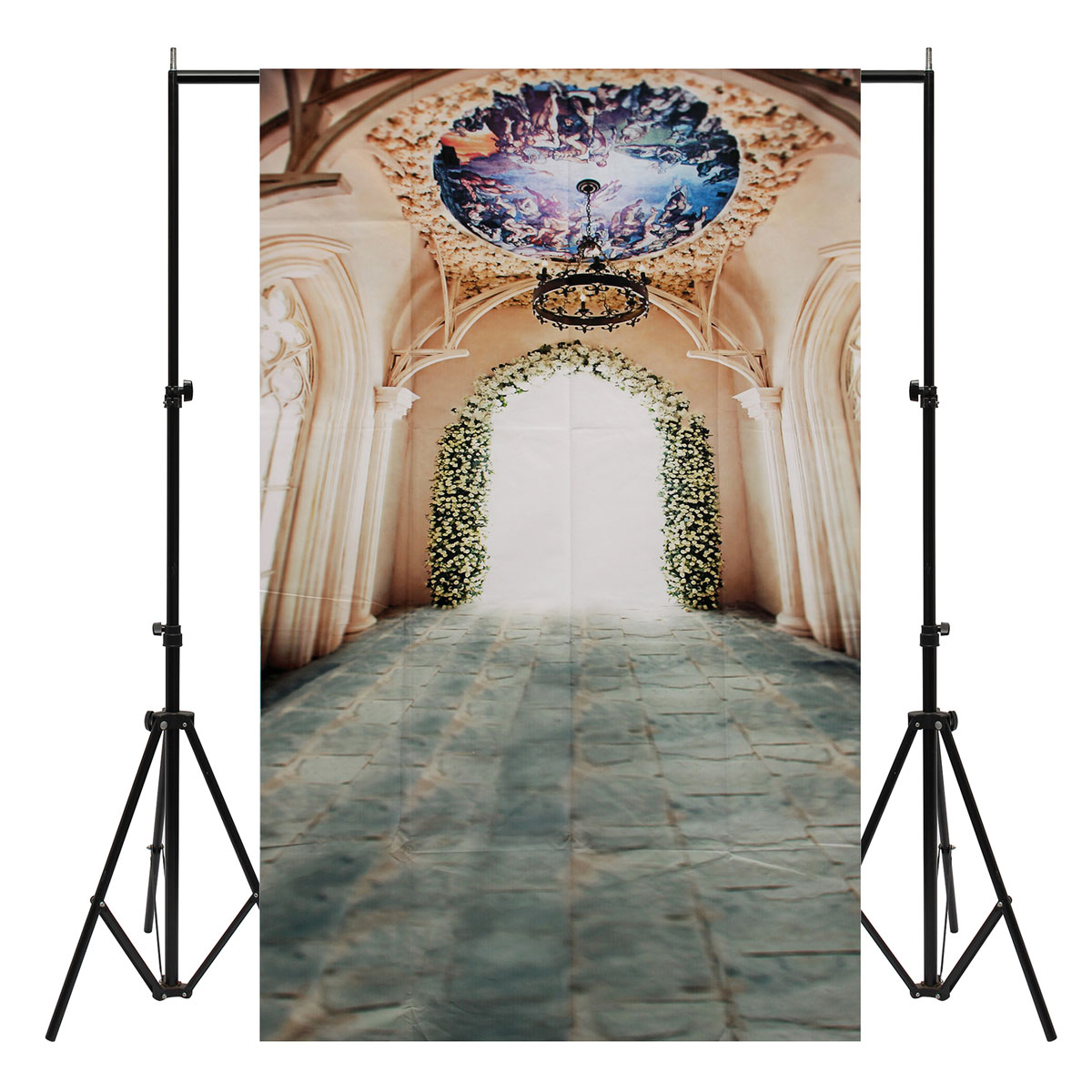 3x5ft Vinyl Hall Palace Photography Background Backdrop Photo Studio Prop
