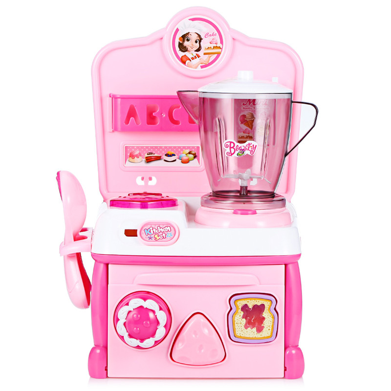 Flytec A205 Kitchen Dining Table Electric Music Juicer With Light Pretend Role Play Play Toys