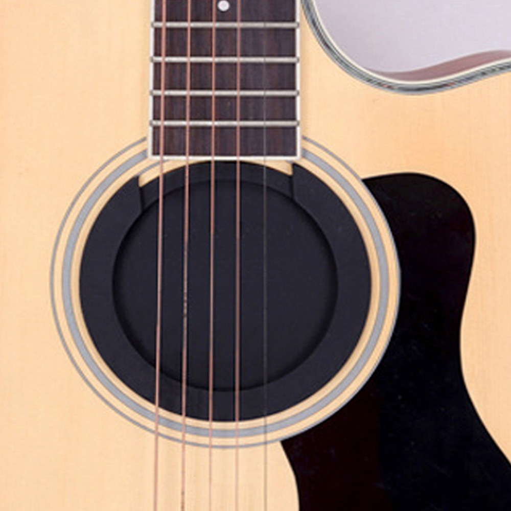 Silicone Acoustic Classic Guitar Sound Hole Cover Silence Buffer Block for Guitar Tool Accessories