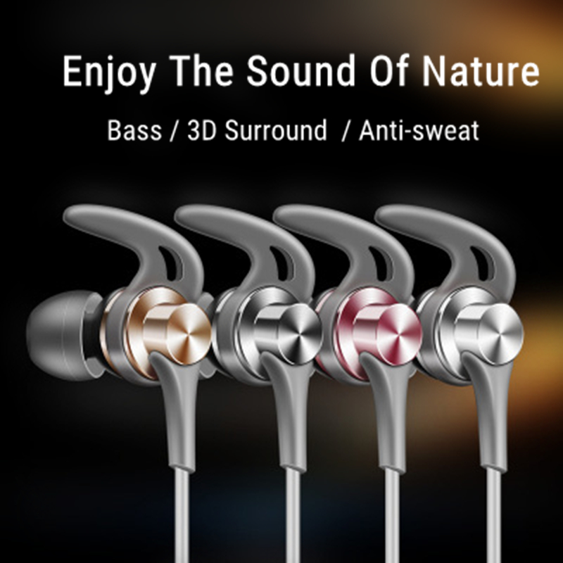 J02 3.5mm Wired Control Earphone Heavy Bass Stereo Sports Headphone with Mic for Samsung Xiaomi