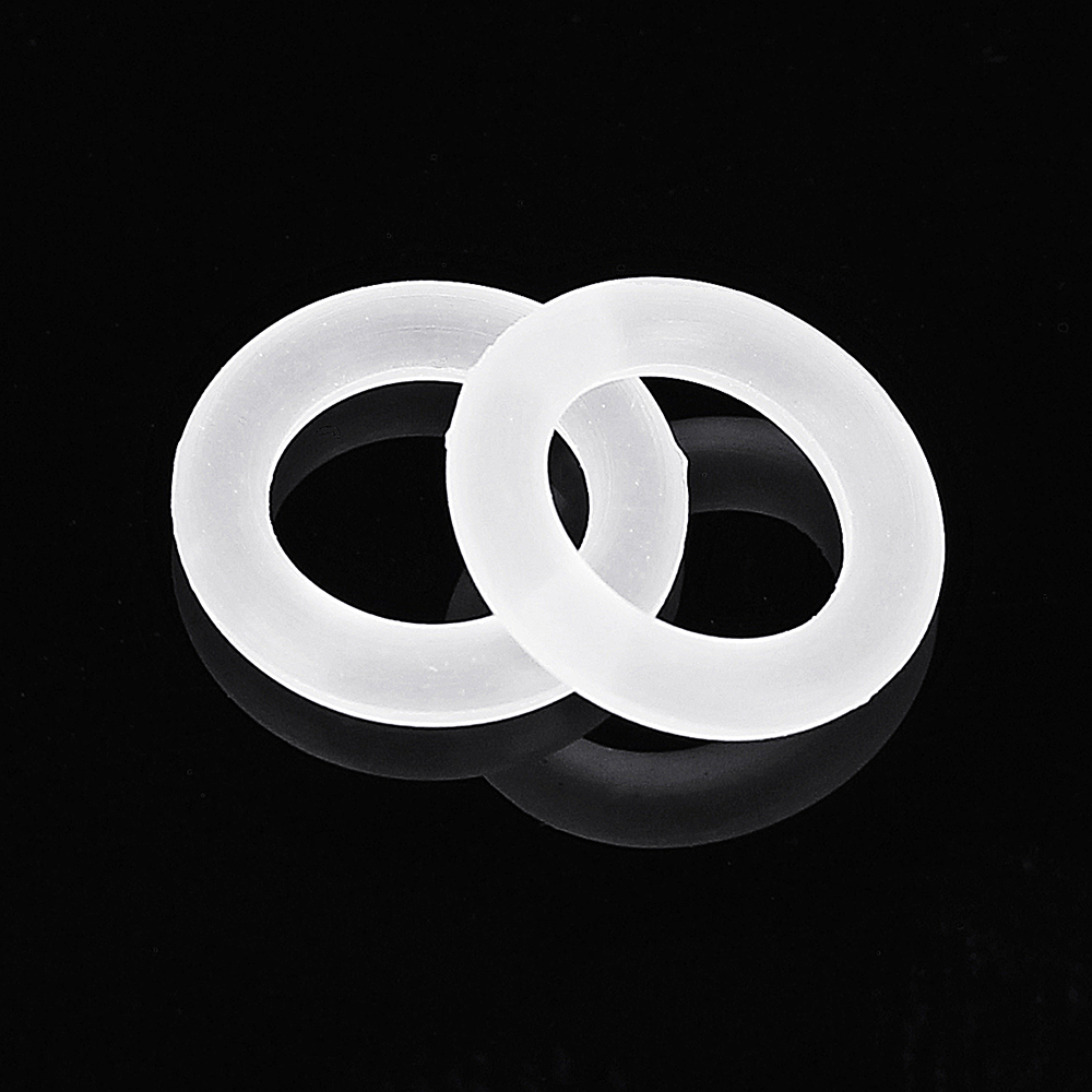 150pcs White Rubber O-Ring For Cherry MX Switch Mechanical Keyboard