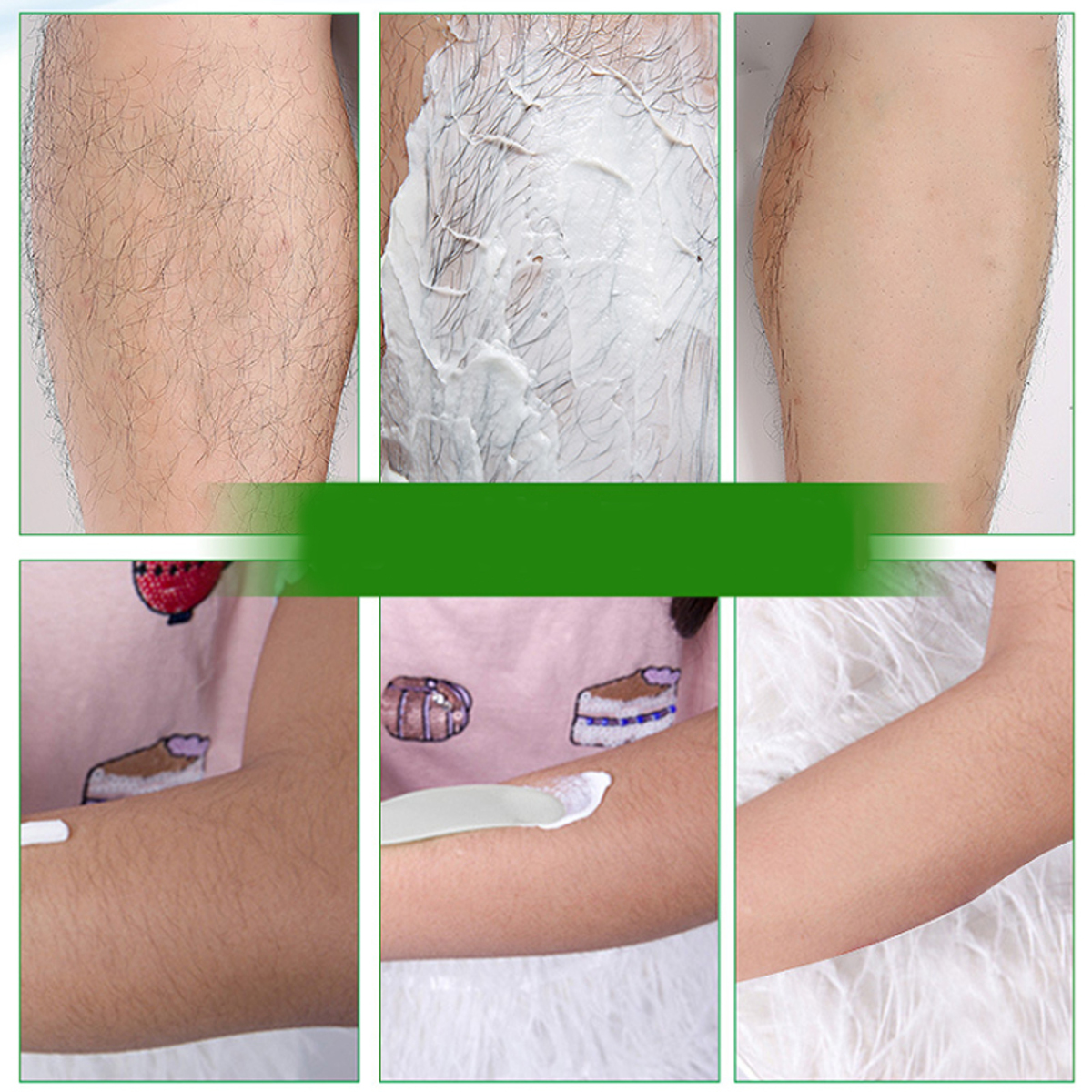 150g Unisex Depilatory Bubble Hair Removal Cream