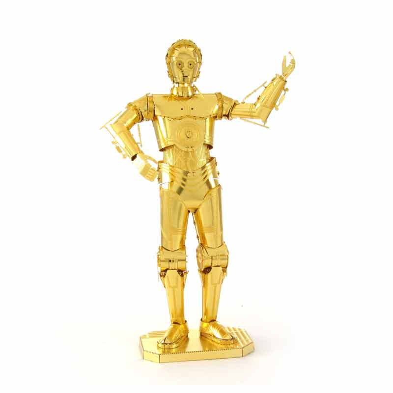 Aipin All 3D DIY Jigsaw Metal Puzzle Assembly Model Three-Dimensional Glue Brass Version For Child