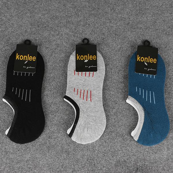 Men Athletic Low Cut No Show Deodorization Ankle Socks