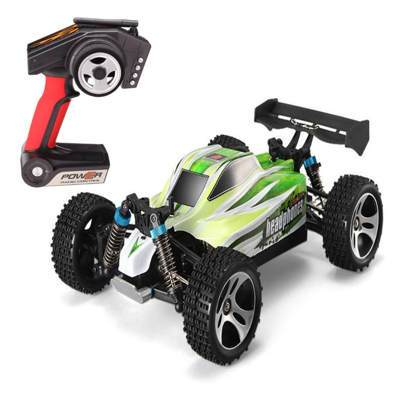 WLtoys A959-B 1/18 4WD 2.4G Buggy Off Road RC Car High Speed 70km/h