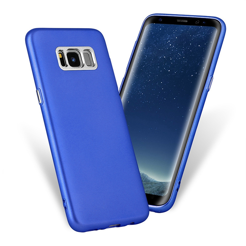Plating Coating Shockproof Soft TPU Case Cover for Samsung Galaxy S8 5.8''