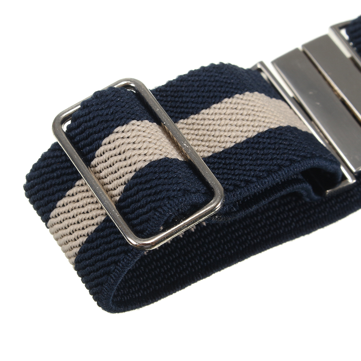 1Pair Suspender Double Grip Clip Men's Sock Durable Buckle