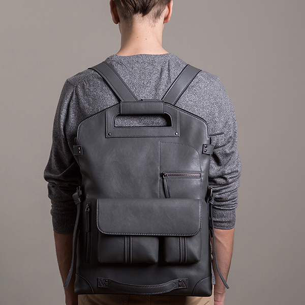 Ekphero Men Handbag Casual Multifunction Backpack