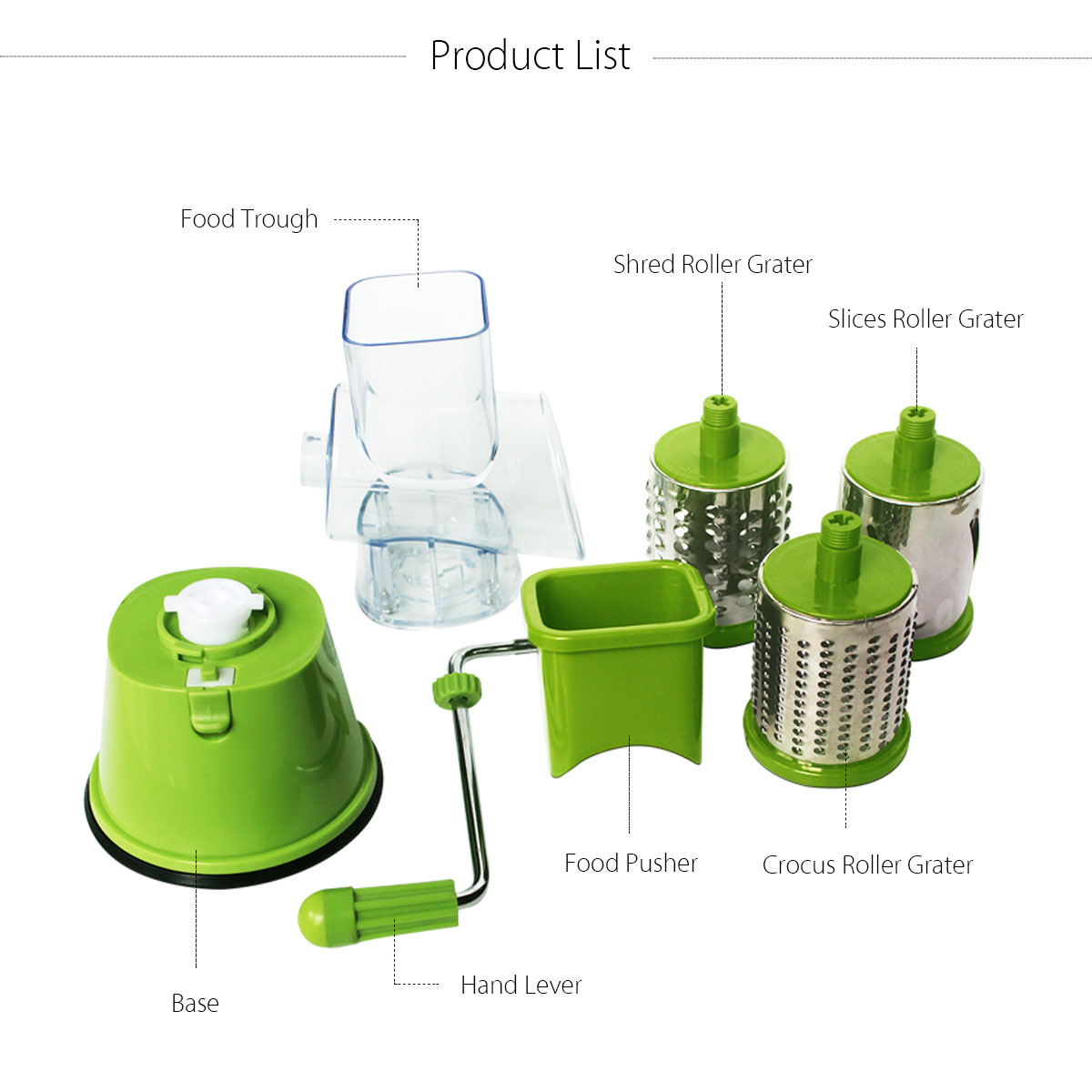 Round Vegetable Friut Slicer Potato Carrot Grater Cheese Cutter Cutting Tool