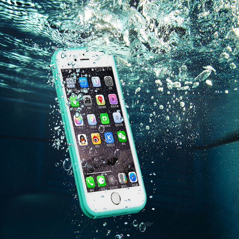 GP Ultra Thin TPU Waterproof Shockproof Touch Screen Protective Sleeve For iPhone 6 6S 4.7 Inch