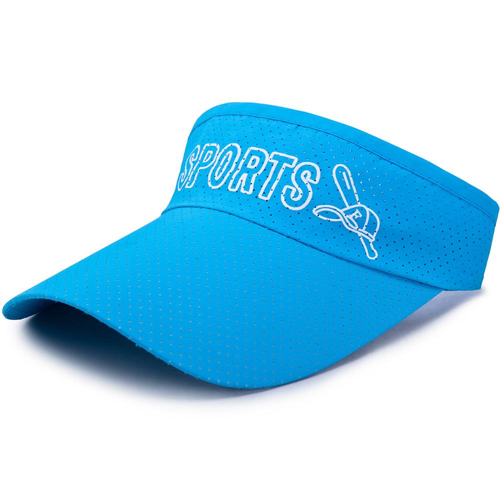 Men Women Quick-drying Empty Top Visor Hat