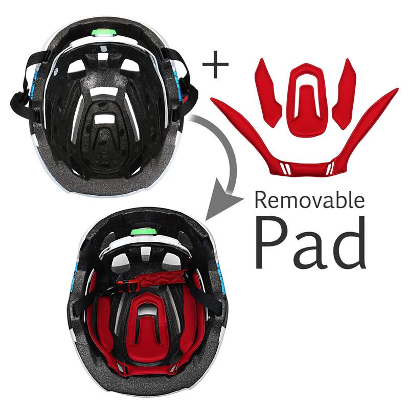 SCOHIRO-WORK Water Label Version Bike Bicycle Helmet Mountain Mtb Road Cycling Helmet