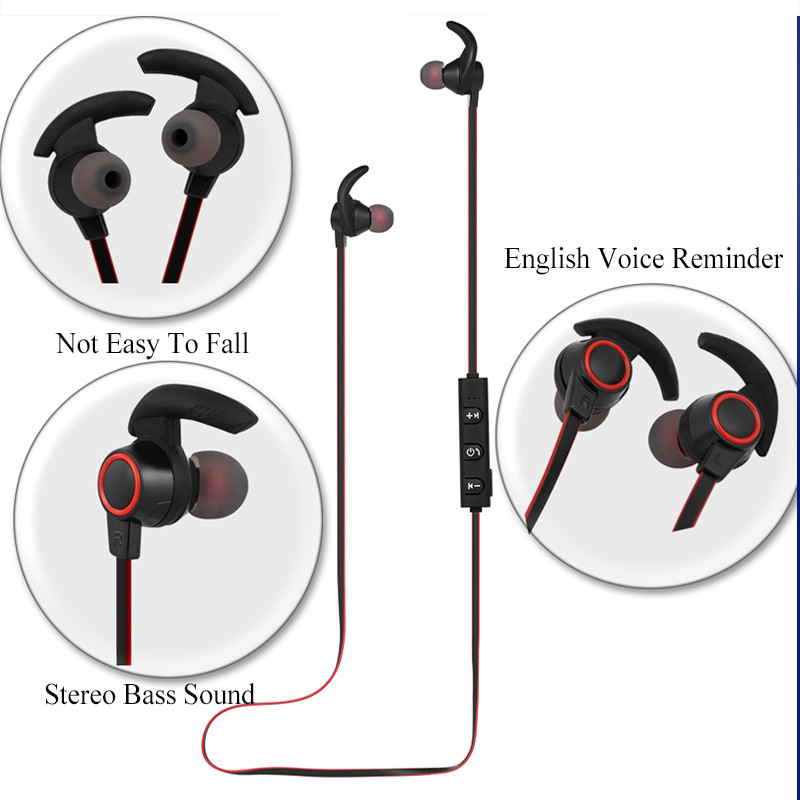 AMW-810 Outdoor Sport Running Water-proof Light Weight Neck Band bluetooth Earphone Headphone