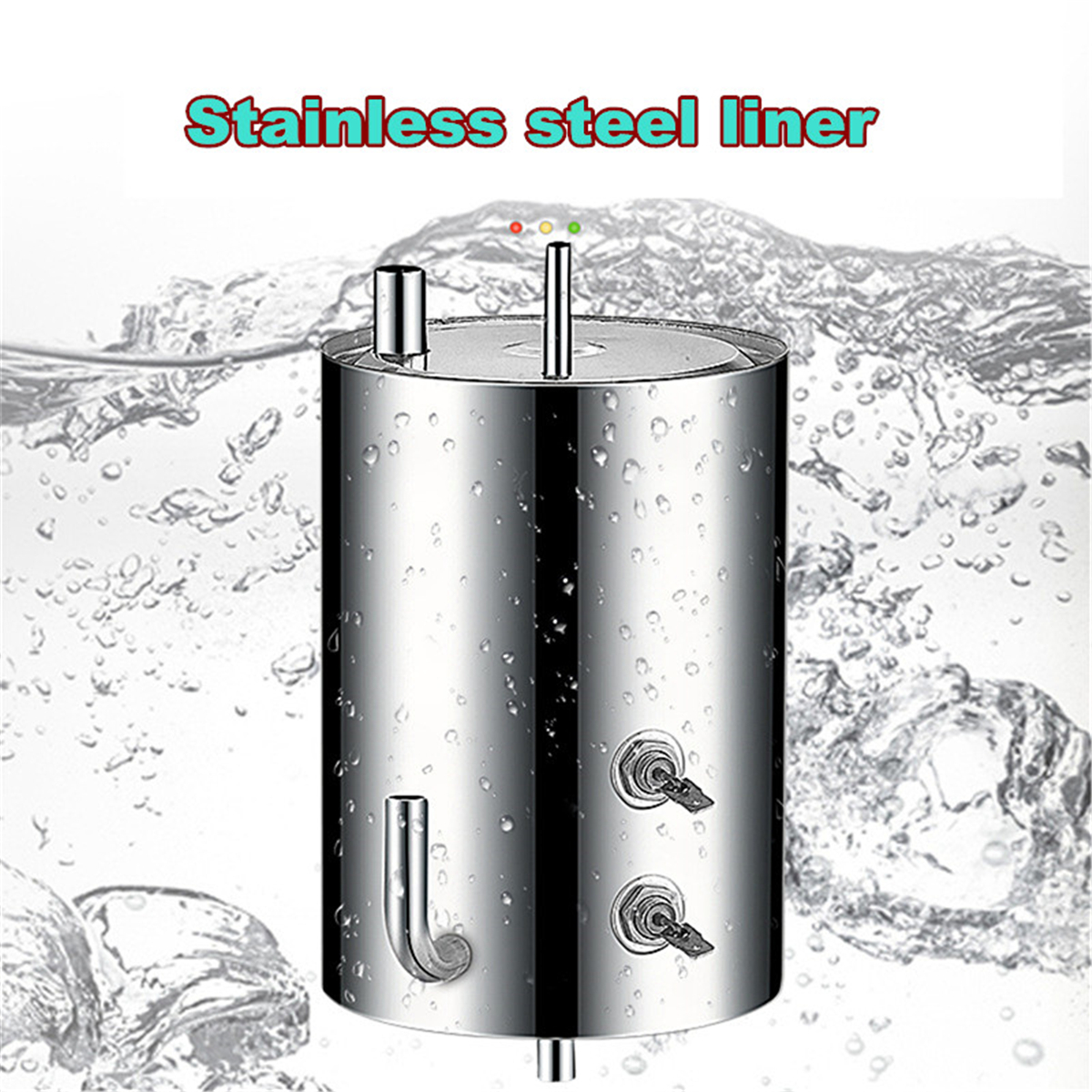 220V Water Cooler Table Top Household Mini Warm and Cold Hot Water Dispenser Beverage Dispenser
