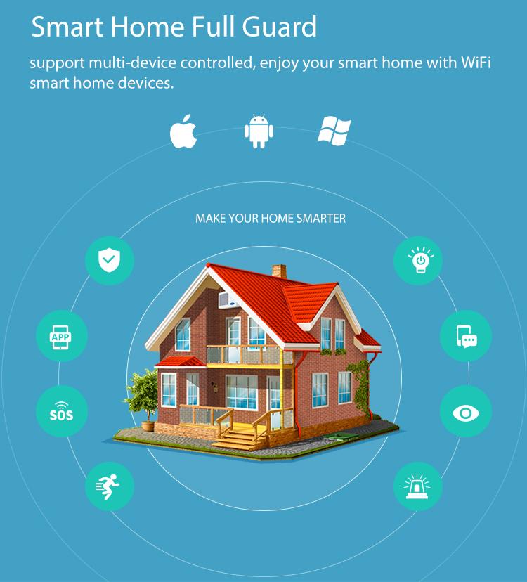 NEO COOLCAM NAS-PD01W WiFi Smart Mini PIR Motion Detection Sensor 2.4GHz WiFi One Key Connect Remote Control