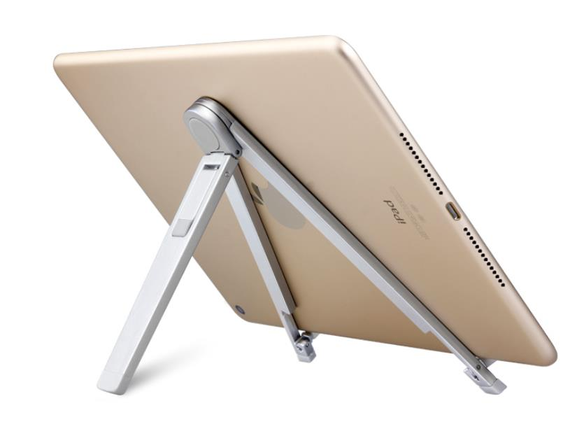 Foldable Adjustable Metal Desktop Stand Holder Portable Lazy Holder For iPad 7-10 Inch Tablets PC