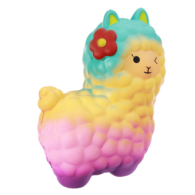 Jumbo Alpaca Sheep Squishy 17CM Soft Slow Rising Kawaii Beauty Squeeze Kid Toys