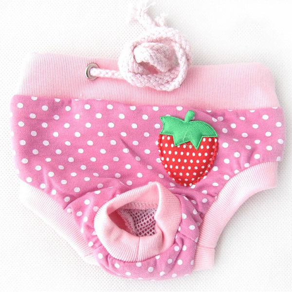 Pet Dog clothes Diapers Physiological Pants Pet Pants Cotton Tighten Strap Sanitary Dog Underwear