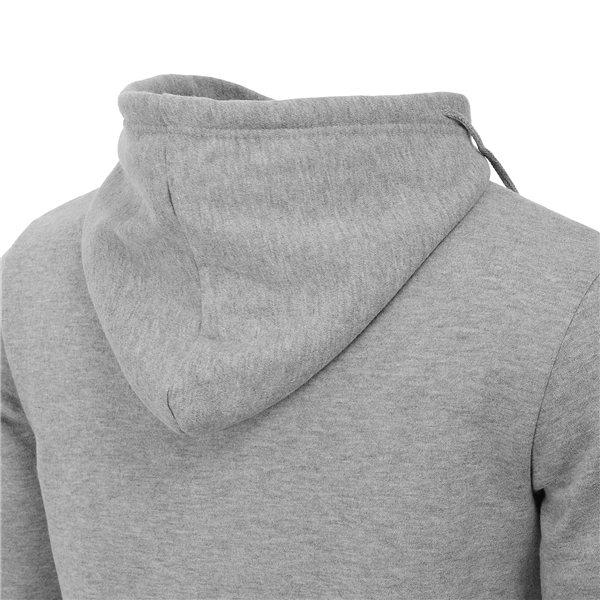 Mens Casual Solid Color Sweater Side Hoodies Thick Fleece Fashion Sweatshirts