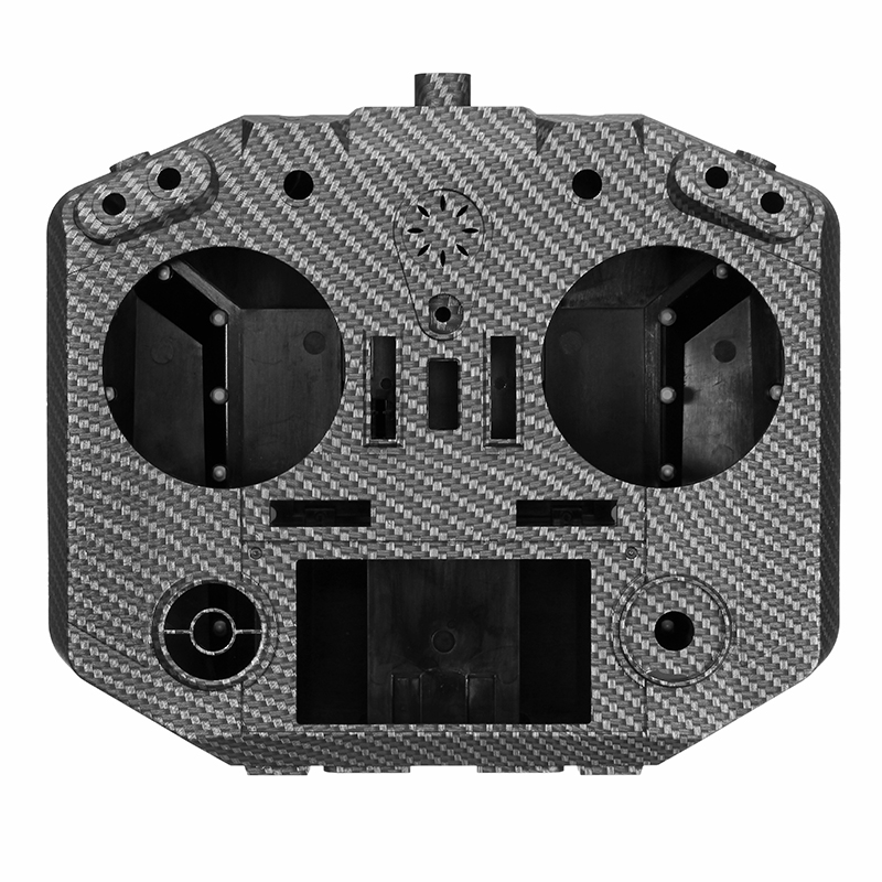 Original Frsky Taranis Q X7S Radio Tansmitter Parts Carbon Fiber Silicone Case Cover Shell