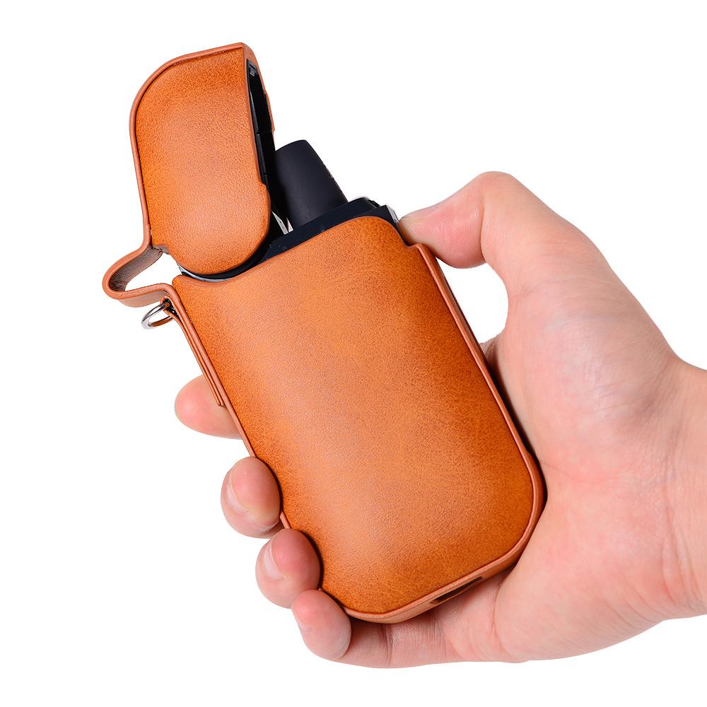Men Faux Leather iQOS Electronic Cigarette Case