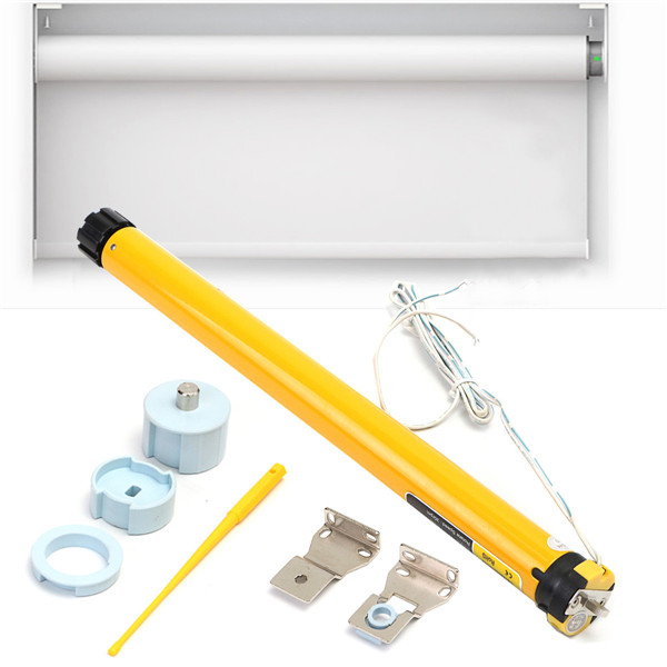DC 12V 25mm DIY Electric Roller Blind Shade Tubular Motor Kit