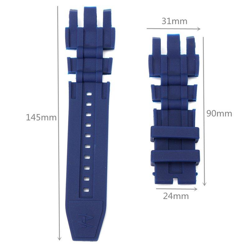 Replacement Silicone Rubber Watch Band For Invicta Subaqua R